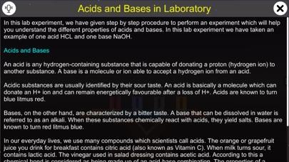 Acid and bases in laboratory screenshot 1