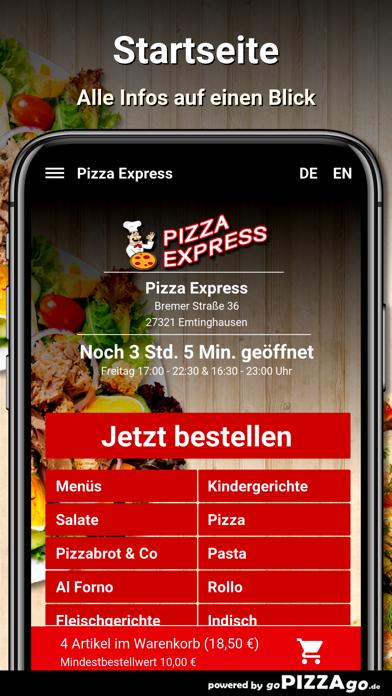 Pizza Express Emtinghausen screenshot 2
