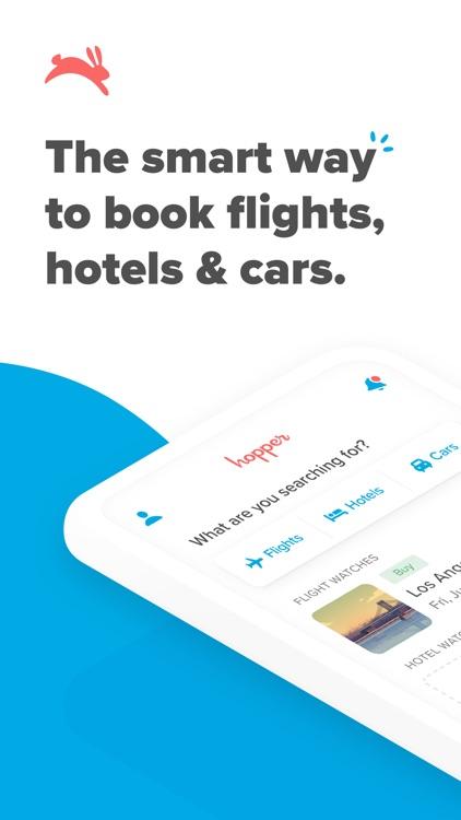 Hopper - Flight & Hotel Deals screenshot-0