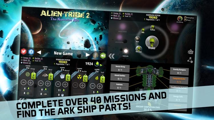 Alien Tribe 2: 4X Space RTS TD screenshot-4