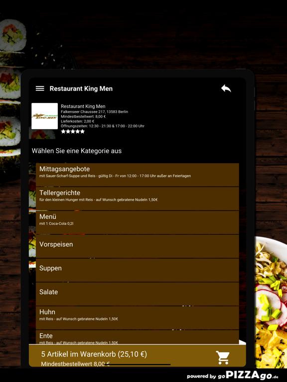 Restaurant King Men Berlin screenshot 8