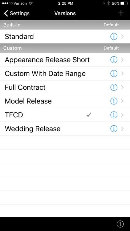 Easy Release - Model Releases screenshot-8