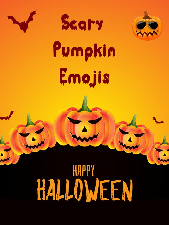 Scary Pumpkin Emojis screenshot 6