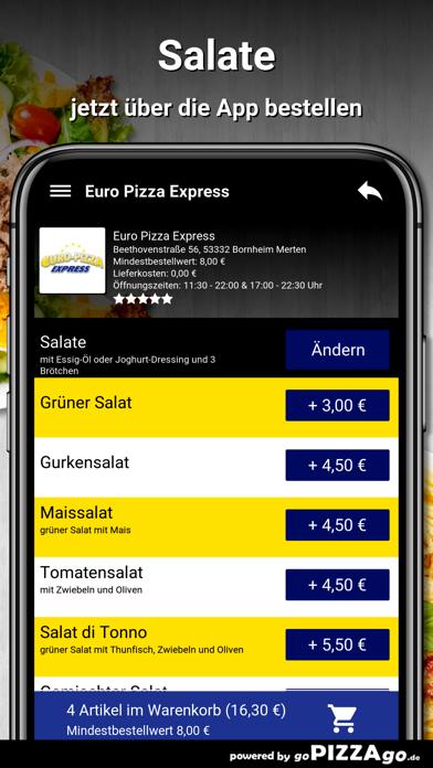 Euro Pizza Bornheim Merten screenshot 5