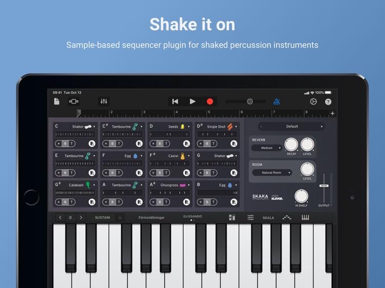 Skaka - Shaken Percussion