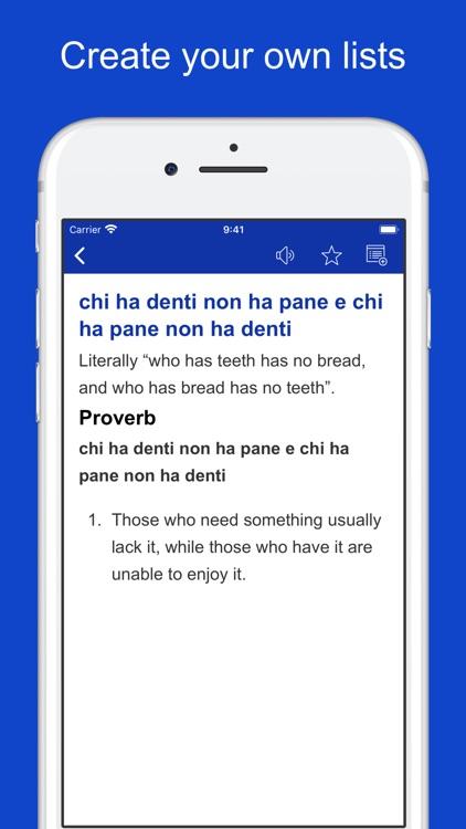 Italian Idioms and Proverbs screenshot-5