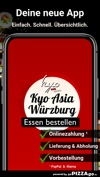 Kyo Asia Xpress Würzburg screenshot 1