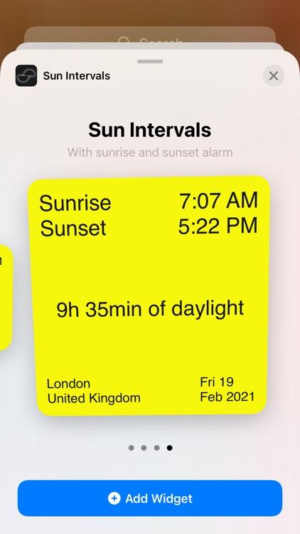 Sun Intervals screenshot-6