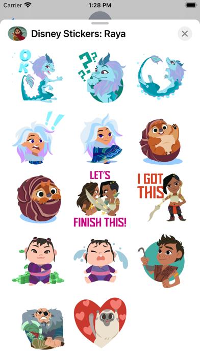 Disney Stickers: Raya screenshot 3