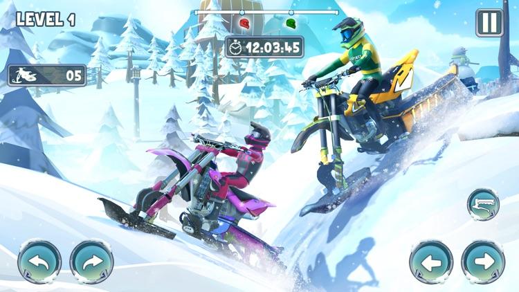 Snow Bike Racing Game screenshot-7
