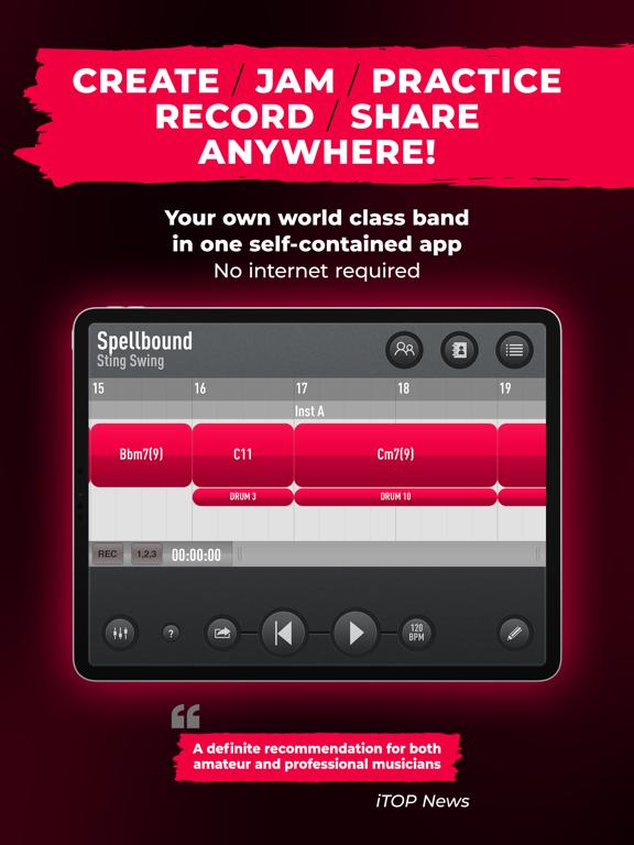 SessionBand Jazz 4 screenshot 16