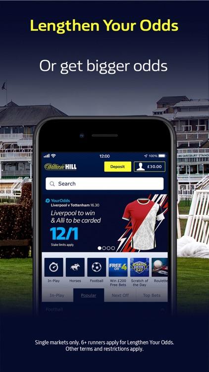 William Hill: Sports Betting screenshot-3