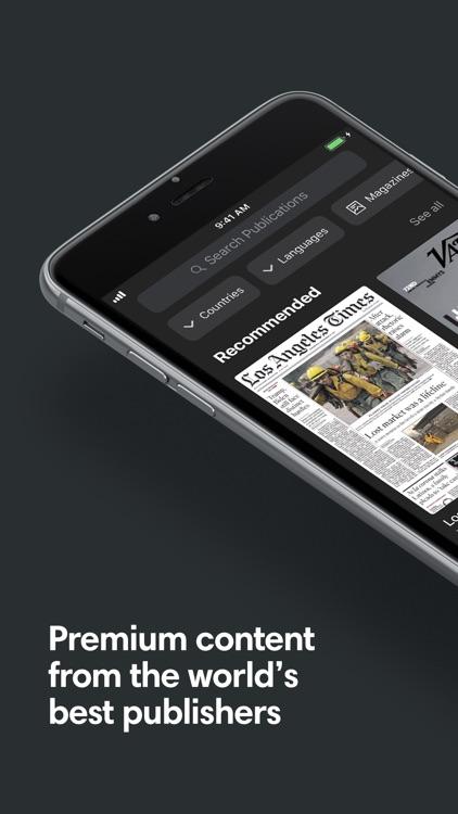 PressReader: News & Magazines screenshot-0