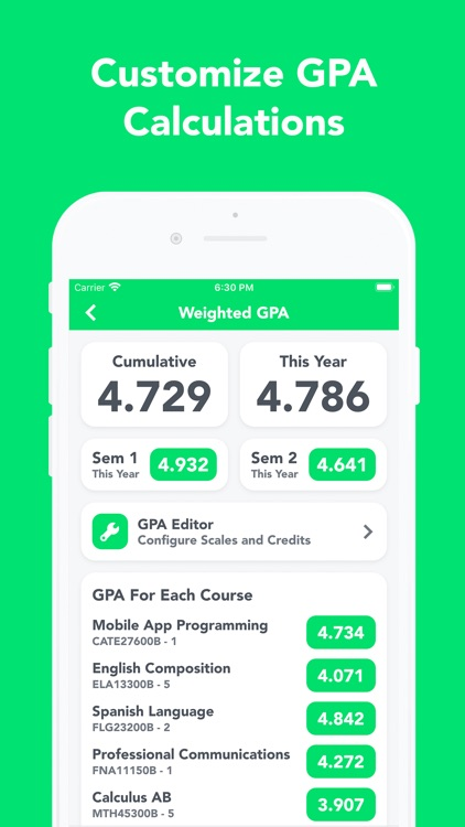 UpGrade - HAC, Grades, Planner screenshot-5