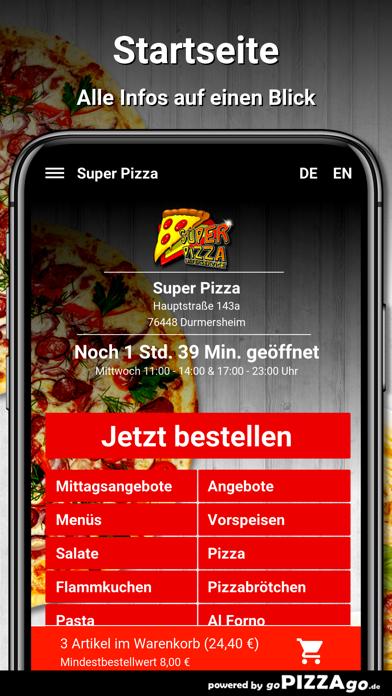 Durmersheim Super Pizza screenshot 3