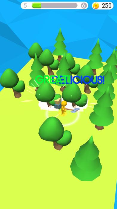 木こり- 木を切る紹介画像1