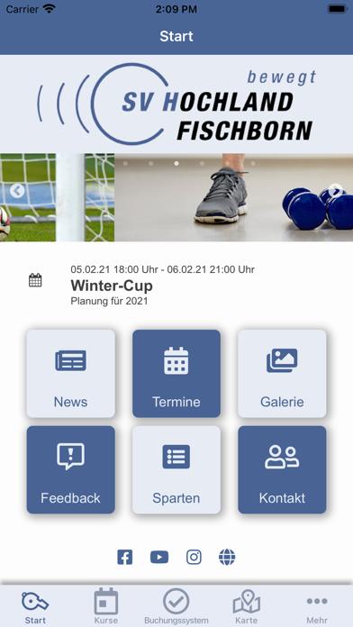 SV Hochland Fischborn e.V.Screenshot von 2