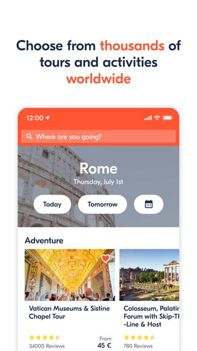 GetYourGuide: Tours & Tickets screenshot