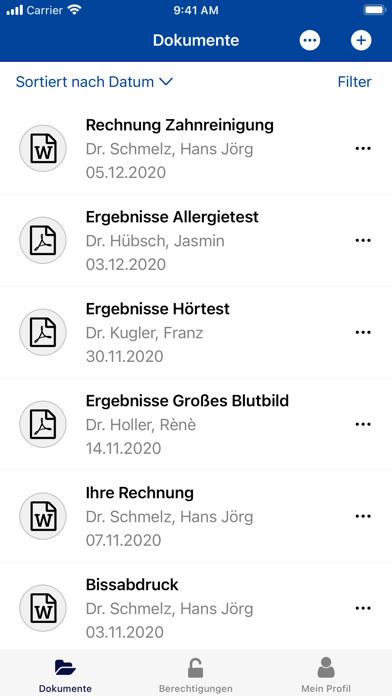 ePA BKK Achenbach BuschhüttenScreenshot von 5