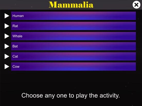 Diversity in Living: Mammalia screenshot 9