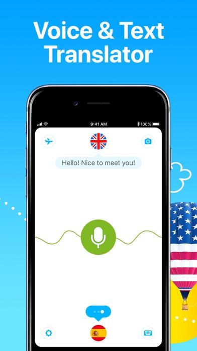 Dialog - Translate Speech Screenshot