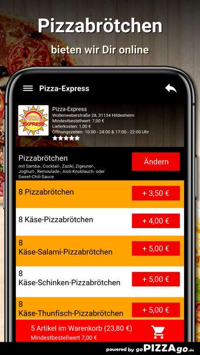 Pizza-Express Hildesheim screenshot 5