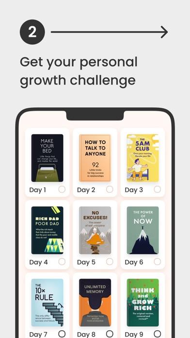 Headway: Self-Growth Challenge Screenshot
