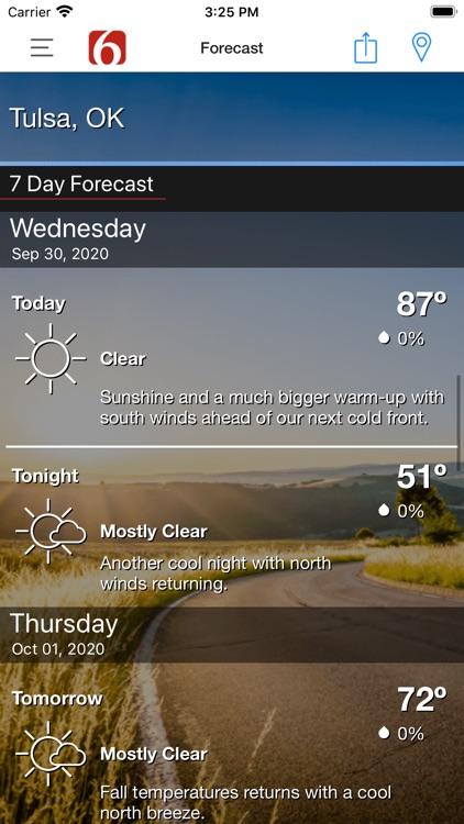 News on 6 Weather screenshot-5