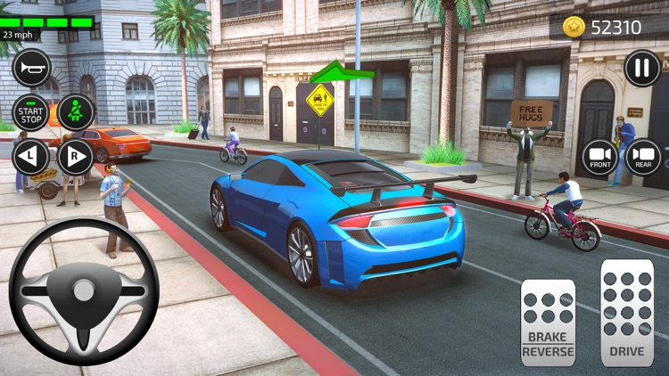 Driving Academy 3D Car Games screenshot-0