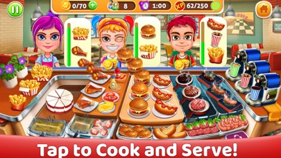 Delicious World Food Cooking screenshot 1