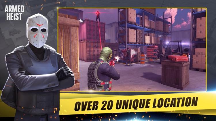 Armed Heist: Shooting Games screenshot-5