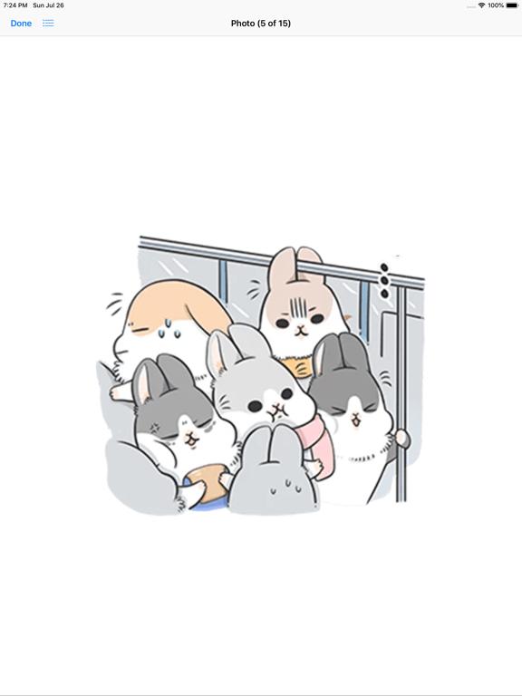 Ipad Screen Shot Machiko Rabbit Pack# 3 3