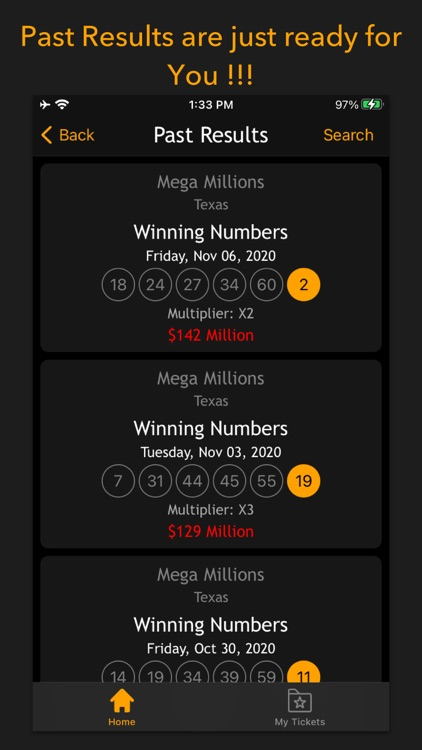 Lottery results-Ticket scanner screenshot-6
