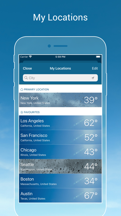 messages.download Weather & Radar - Storm alerts software