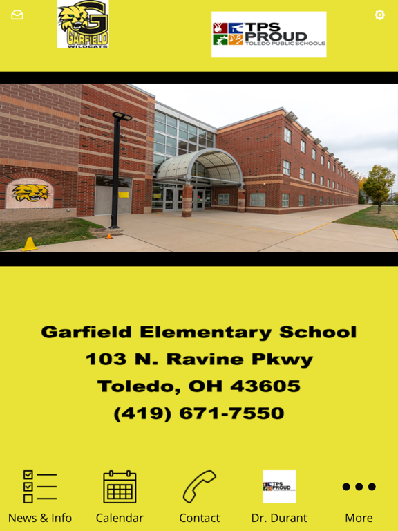 Garfield Elementary TPS screenshot 6