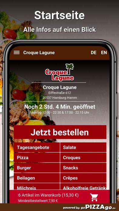 Croque Lagune Hamburg screenshot 3