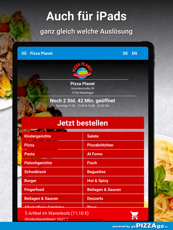 Pizza Planet Lieferservice screenshot 7
