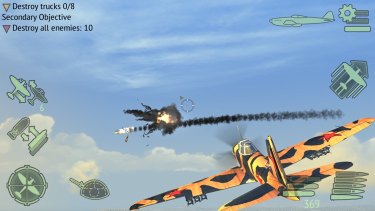 Warplanes: WW2 Dogfight FULL screenshot-3