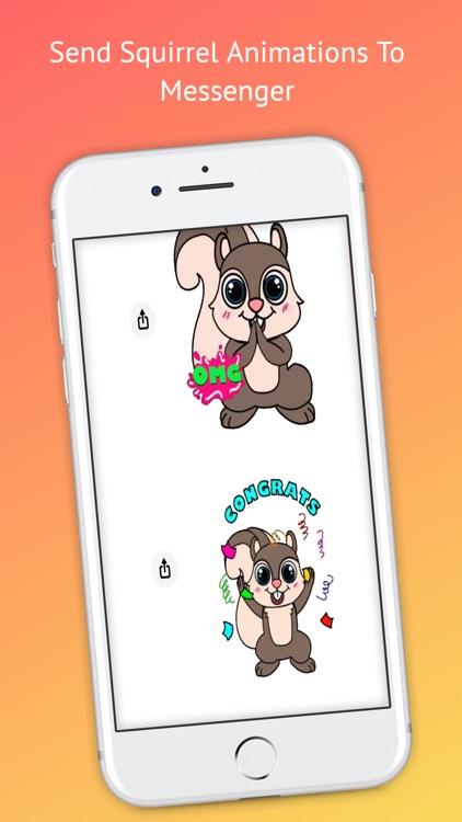 Mitzi Squirrel Emojis screenshot-3