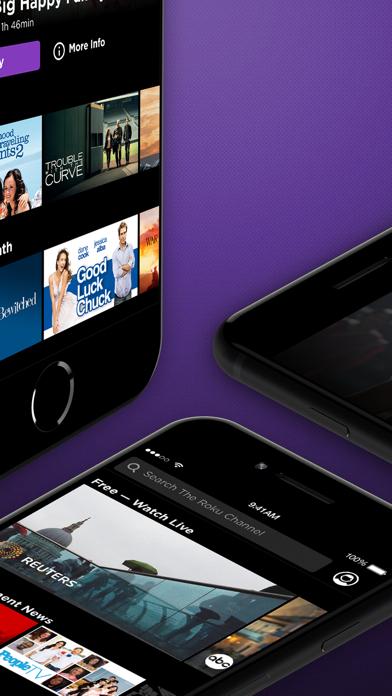 Roku Channel: Movies & Live TV Screenshot