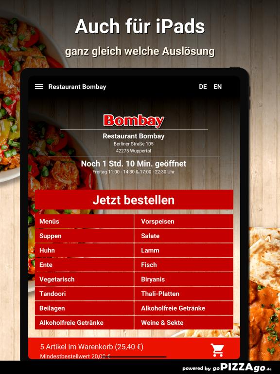 Restaurant Bombay Wuppertal screenshot 7
