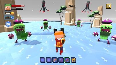 Fire Craft: 3D Pixel World screenshot 5