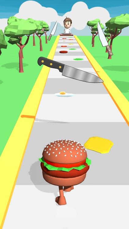 Burger Run 3D