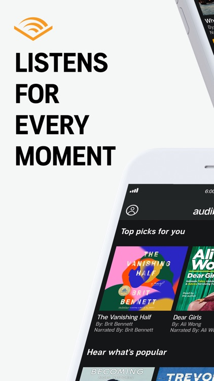 Audible audio books & podcasts screenshot-0