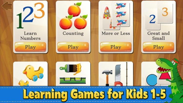 Dino Puzzle Kid Dinosaur Games screenshot-8