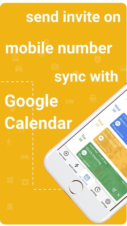 imeetify-Time Planner,Calendar screenshot-4