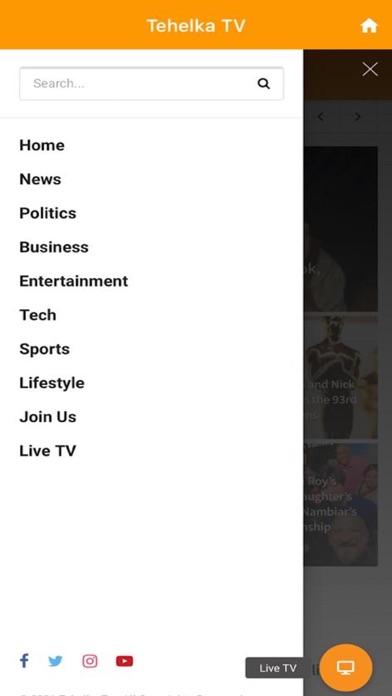 Tehelka TVلقطة شاشة1