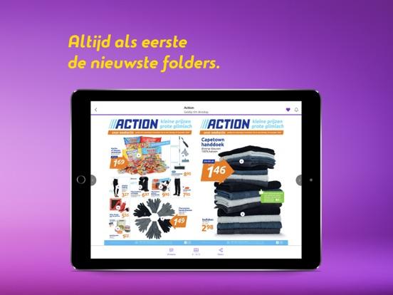 Reclamefolder iPad app afbeelding 2