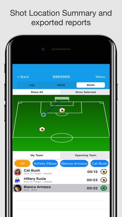 Soccer Stat Recorder 3000 screenshot-3