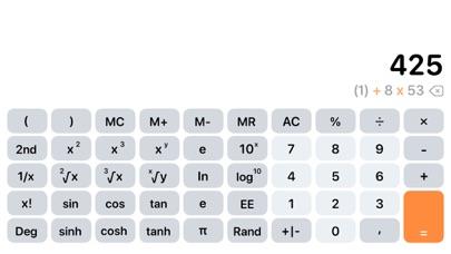 Taschenrechner AirScreenshot von 5